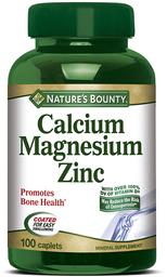 Nature's Bounty Natures Vitaminas Y Minerales Cal Mag Zinc