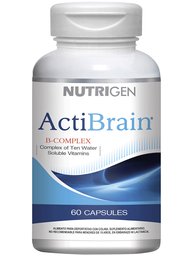 Acti Brain Vitaminas Y Minerales Bcomplex Cap.60