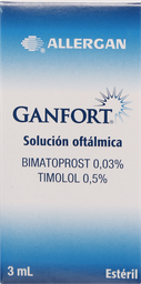 Medicamentos Oftamologicos Ganfort Sol.Oft.3Ml