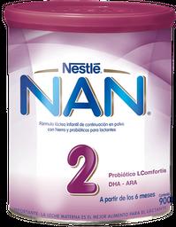 Fórmula Láctea Nan 2 L-Comfortis 900 g
