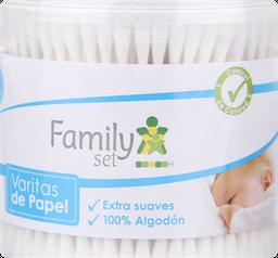 Higiene Infantil F.Set Cotonitos X300