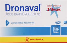 Osteoporosis Dronaval Com.150Mg.3