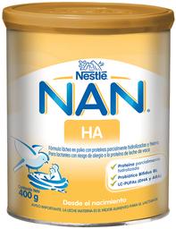 Fórmula Infantil Nan Ha en Polvo Desde el Nacimiento 400 gr