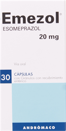 Antiulcerosos Emezol Cap.20Mg.30