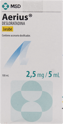 Antipruriginosos Aerius Jbe.2,5Mg/5Ml100Ml
