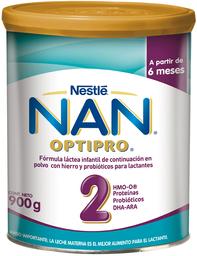 Formula Infantil Nan 2 Pro a Partir de 6 Meses 900Gr