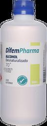 Antisepticos Primeros Auxilios Alcohol Desnat.70% 500Ml
