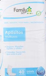 Apositos Adulto F.Set Aposito Ut. X40