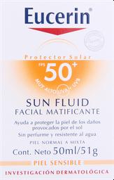 Protector Facial Eucerin Sol.F50 Cr.Mat.50