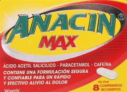 Dolor Y Fiebre Anacin Max Com. 8