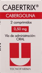 Medicina Reproductiva Cabertrix Com.0.5Mg.2