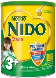 Leche Nido en Polvo Etapa 3 Mas Protectus Avanzado 1600 g