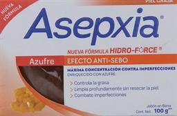 Jabón Anti Acne En Barra Azufre Asepxia