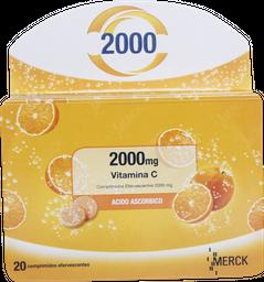 Vitaminas Prevencion Resfrio Cebion Vita.C 2000Comef20