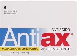 Antiflatulentos Antiax Com.Mast.6