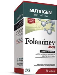 Vitaminas Y Minerales Folaminev Cap.Blandas 60