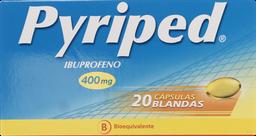 Antiinflamatorios Pyriped Cap.400 Mg.20