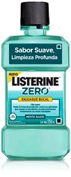 Enjuague Bucal Listerine Zero Enj.250Ml
