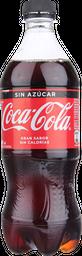 Bebestibles Coca Cola S/Azucar 591Ml