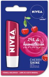 Protector Labial Nivea Cereza Fruity Shine 4.8g