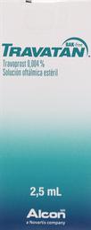 Medicamentos Oftamologicos Travatan Bak.F.0,004%2,5M