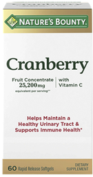Vitaminas Y Minerales Nb Cranberr.Cap25200Mg.60