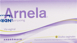 Antimicoticos Antiinfecciosos Arnela 2 ovulos 500Mg