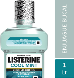 Enjuague Bucal Listerine Zero 1 L