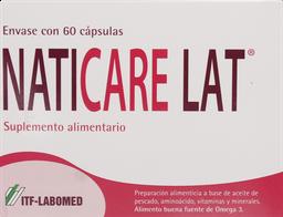 Vitaminas Naticare Lat Cap.60