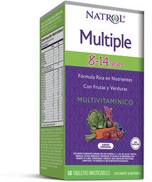 Natrol Multiple Medicamento Multivitamínico