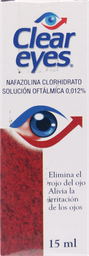 Medicamentos Oftamologicos Clear Eyes Sol.Oft.15Ml