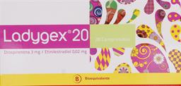 Anticonceptivos Ladygex 20 Com.28