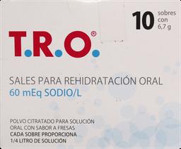 T R O Rehidr 60Meq Sbr 10
