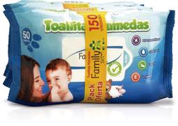 Higiene Infantil F.Set Toall.Hum.Bebe.50X3