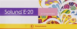 Anticonceptivos Soluna E20 Com.21