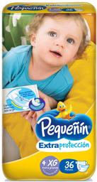 Infantil Pequenin Extpr. Xg X 36