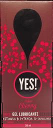 Lubricantes E Higiene Yes! Gel Lubricante Cherry 30Ml