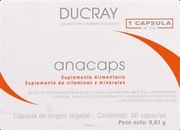 Tratamiento Capilar Dermo Anacaps Supl.Alim.Cap.30