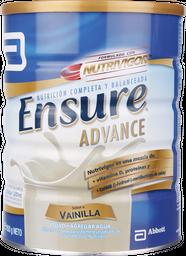 Suplemento Ensure Advance, Lata 850 g