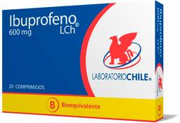 Antiinflamatorios Ibuprofeno Com.600Mg.20