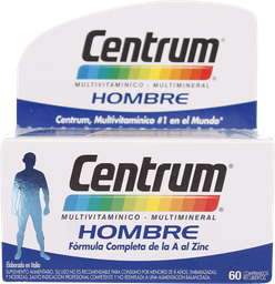 Vitaminas Centrum Hombre Com.60