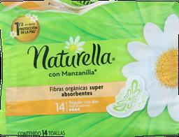 Toallas Higienicas Naturella Manza.C/Alas.14