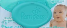 Higiene Infantil Pampers Toa.Hum.Fr.Cle.48