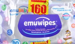 Higiene Infantil Emuwip.Toa.Hum.80S/T(2X1)