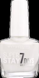 Esmalte Maybelline Superstay 7 Days 071 Pure White 10ml