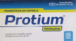 Vitaminas Prevencion Resfrio Protium Inmune Cap.30