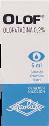 Medicamentos Oftamologicos Olof Sol.Oft.0,2% 5Ml