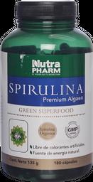Deporte Y Dieta Spirulina Pre.Cap500Mg180