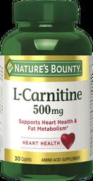 Nutrición Deportiva Nb L-Carniti.500Mg.Cap.30