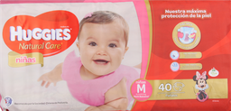 Infantil Huggies Nina.Seman.M X40